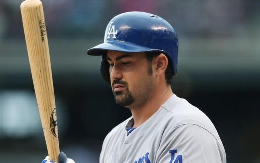 Los Angeles Dodgers Adrian Gonzalez