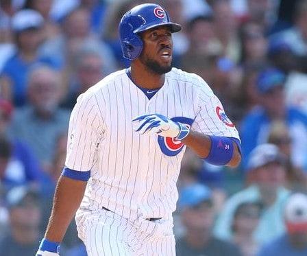 Chicago Cubs Dexter Fowler