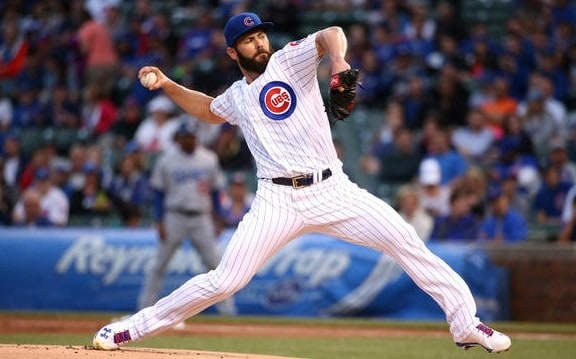 Chicago Cubs Jake Arrieta