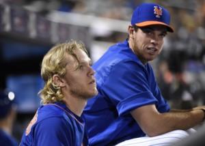 New York Mets Noah Syndergaard Steven Matz