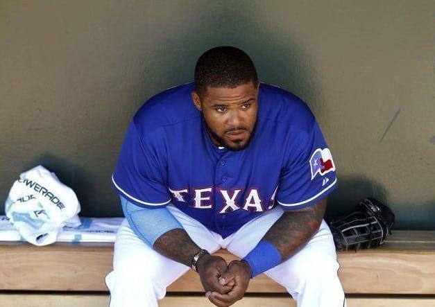 Texas Rangers Prince Fielder