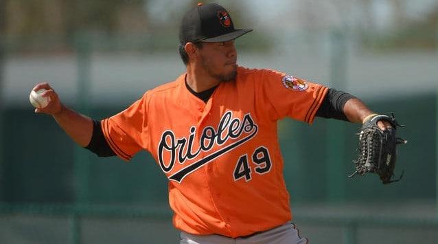 Baltimore Orioles Yovani Gallardo
