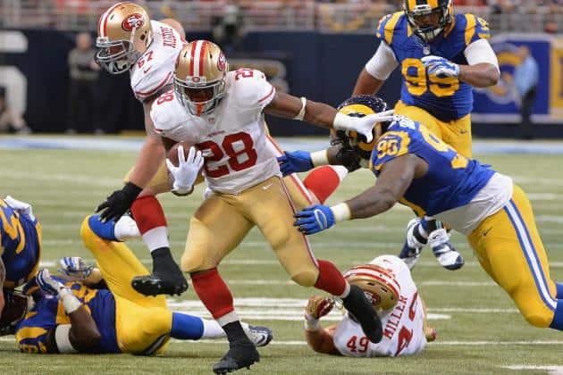 LA Rams vs San Francisco 49ers