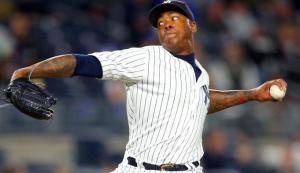 Cubs Yankees Aroldis Chapman