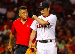 Boston Red Sox Koji Uehara