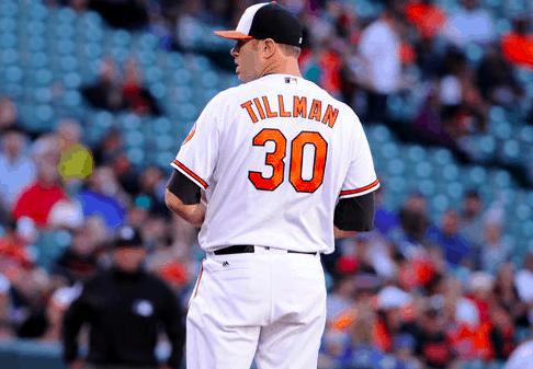 Baltimore Orioles Chris Tillman