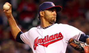 Cleveland Indians Danny Salazar