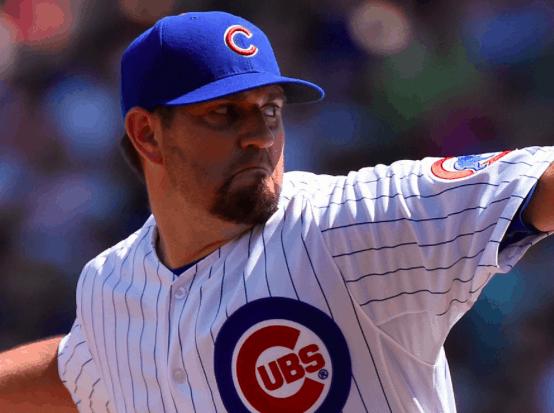 Chicago Cubs Jason Hammel
