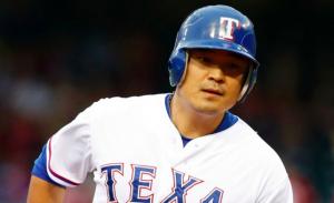 Texas Rangers Shin-Soo Choo