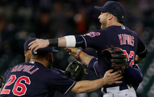Cleveland Indians win AL Central