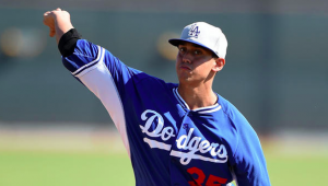 Los Angeles Dodgers Jose De Leon