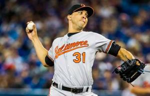 Baltimore Orioles Ubaldo Jimenez