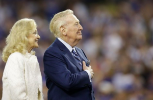 Vin Scully Retirement Ceremony