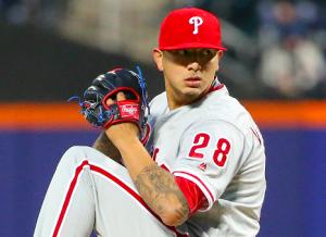 Philadelphia Phillies Vince Velasquez