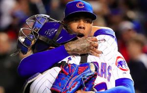 Chicago Cubs Aroldis Chapman World Series