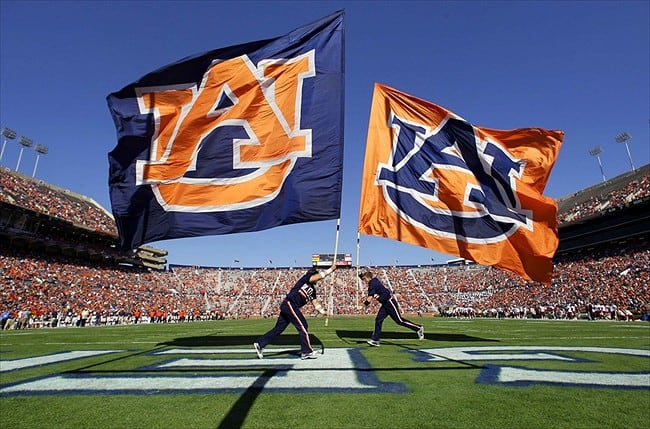Jordan-Hare Stadium will be on fire on Saturday when the Auburn Tigers host the Arkansas Razorbacks!!!