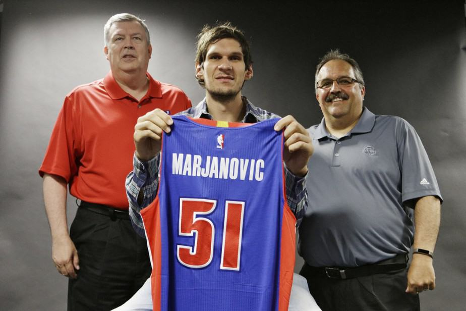 Bobby Marjanovic signed a 3-year deal worth $21 mill. with the Pistons!!!