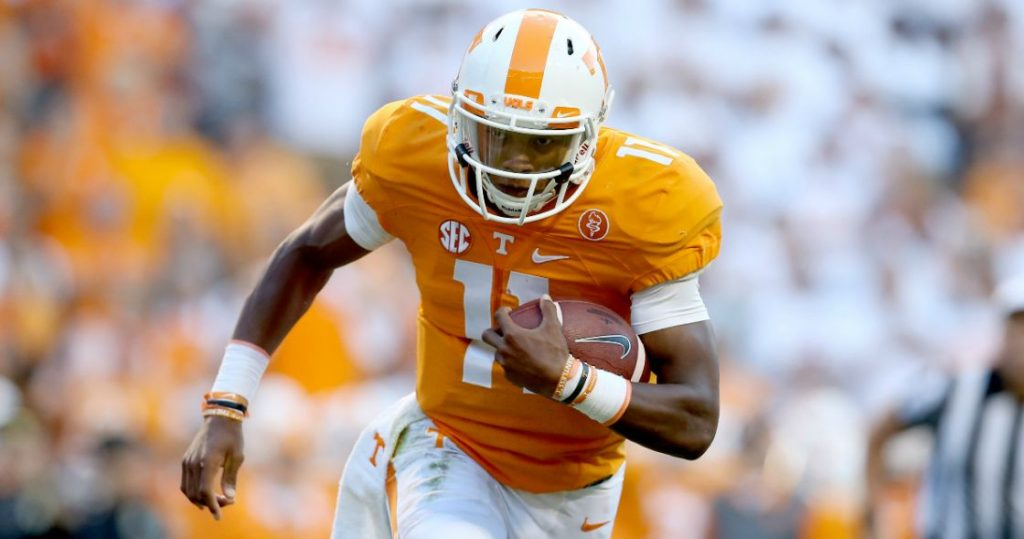 Joshua Dobbs is playing a great season so far for the Vols!!!