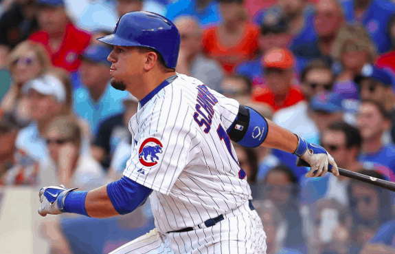 Chicago Cubs Kyle Schwarber