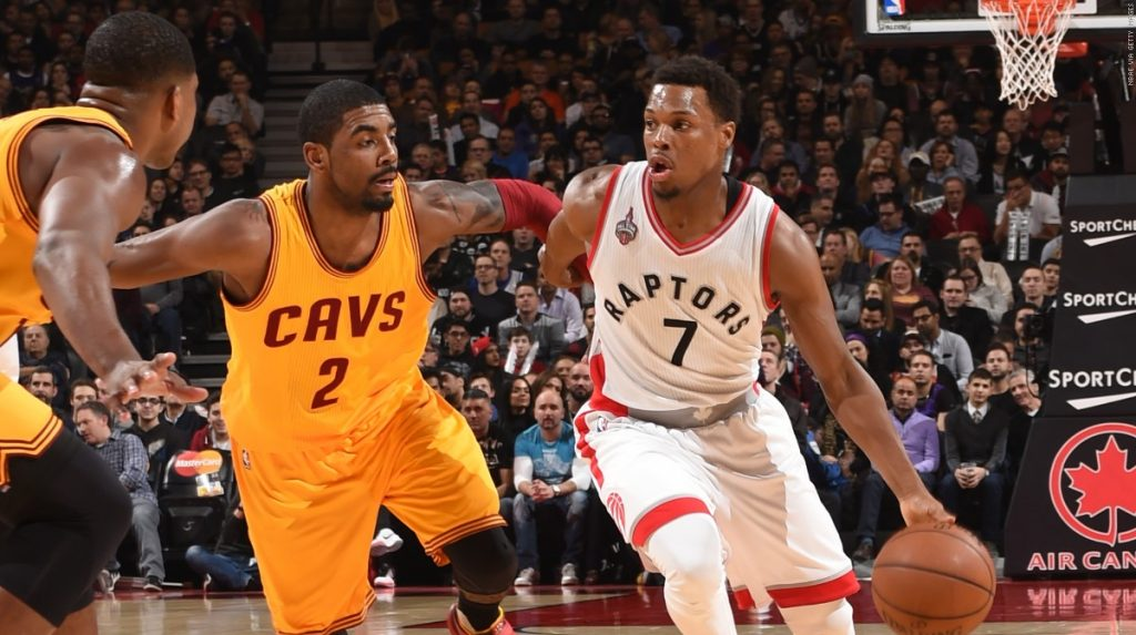 Kyrie Irving will go against Kyle Lowry!!!