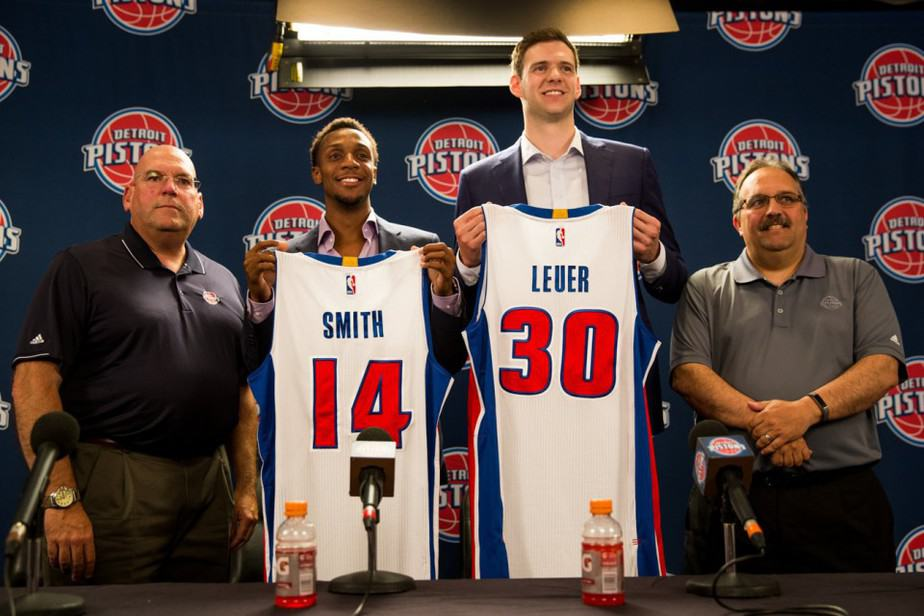 The Pistons did a decent job in the summer signing Ish Smith, Jon Leuer and Boban Marjanovic!!!