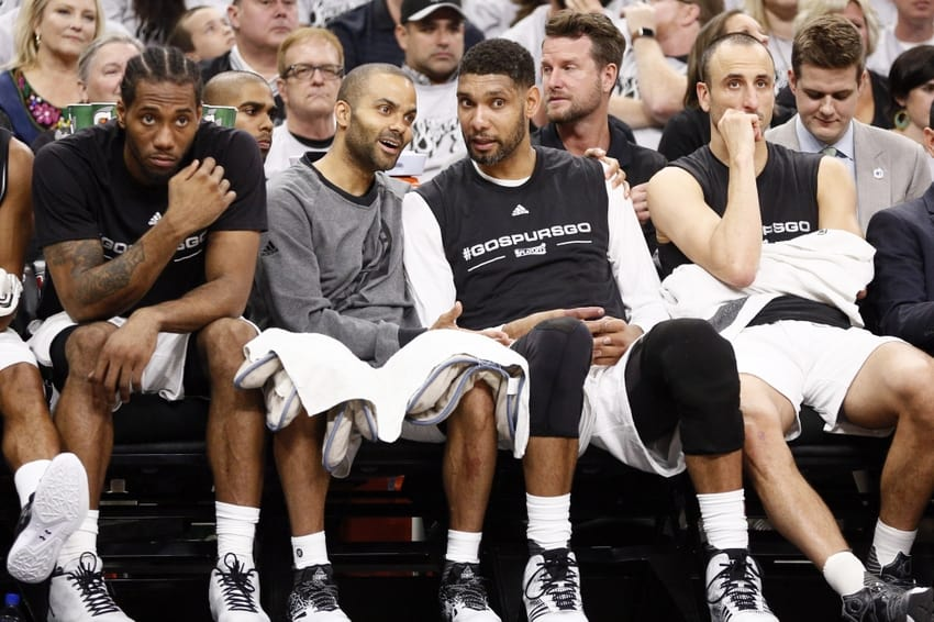 The Duncan-Parker-Ginobili trio was one of the best in the history of the NBA!!!