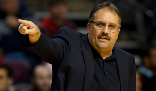 Stan Van Gundy hopes to go deeper in the playoffs this season!!!