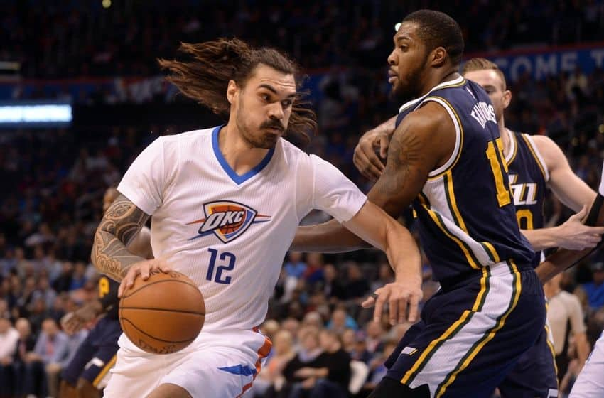 The New Zealand native, Steven Adams has shown a significant improvement over the past two season!!!