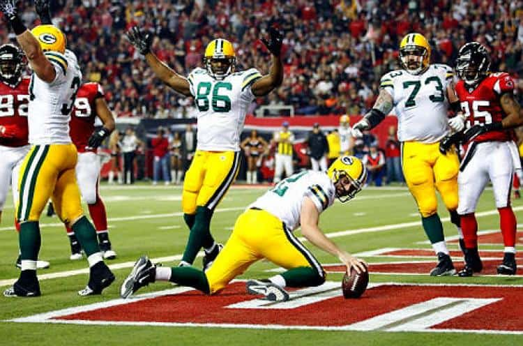 Green Bay Packers have won the last 4 matchups!!!