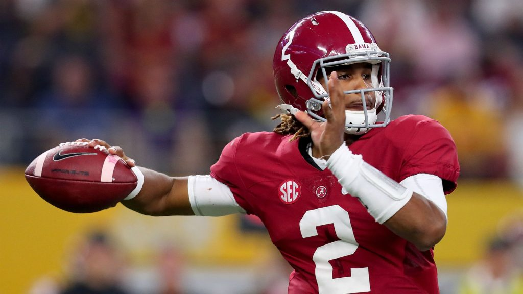 The BAMA Freshman, Jalen Hurts is displaying superb talent so far!!!
