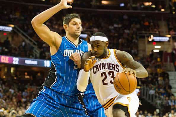 Nikola Vucevic and LeBron James will try to lead their teams to the victory!!!