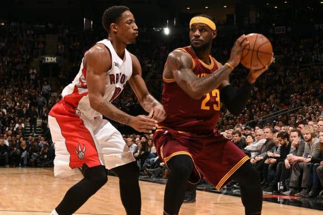 LeBron James and the Cavs will be the main obstacle for the Raptors once again!!!