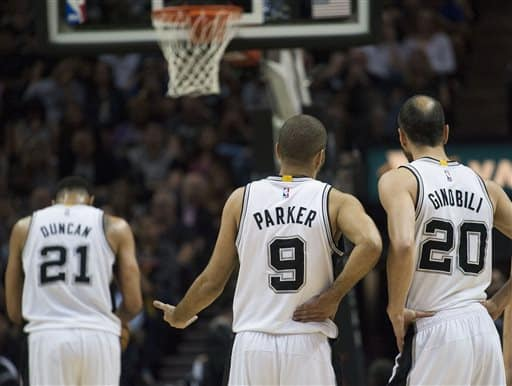 The Duncan-Parker_Ginobili trio was one of the greatest Trios in the history of the NBA!!!