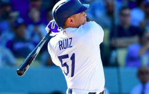 Carlos Ruiz Dodgers Mariners