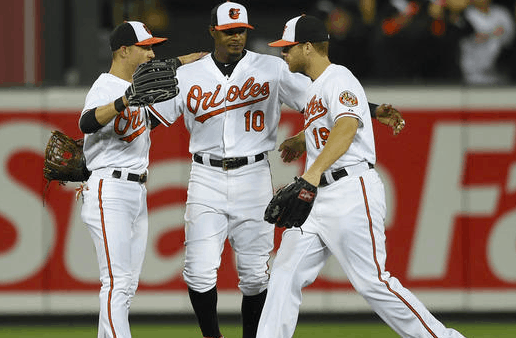 Baltimore Orioles Outfield