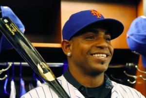 New York Mets Yoenis Cespedes