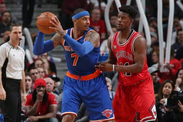 The biggest duel on the match will be the one between Melo and Butler!!!