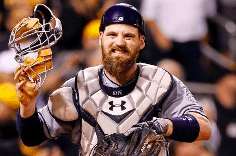 Derek Norris Nationals Padres