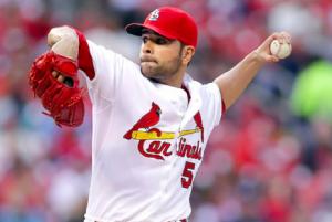 Jamie Garcia Braves Cardinals