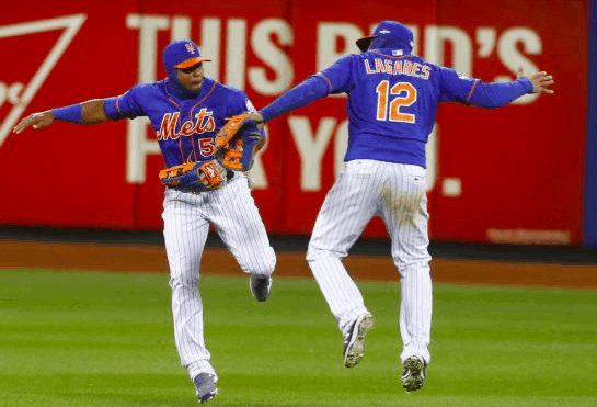 New York Mets outfield
