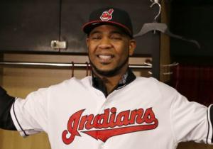 Cleveland Indians Edwin Encarnacion