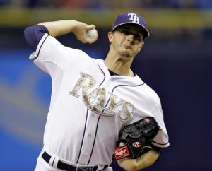 Tampa Bay Rays Jake Odorizzi