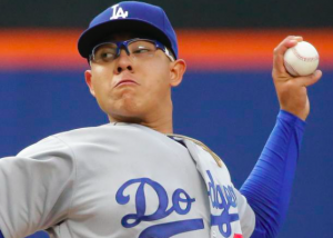 Los Angeles Dodgers Julio Urias