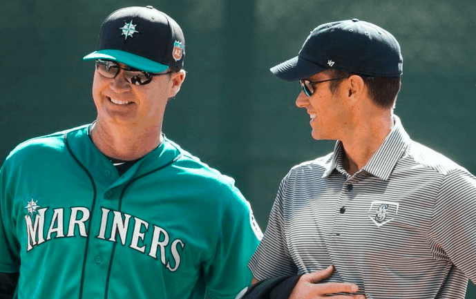 Seattle Mariners Jerry Dipoto Scott Servais