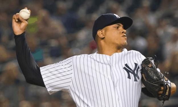 New York Yankees Dellin Betances