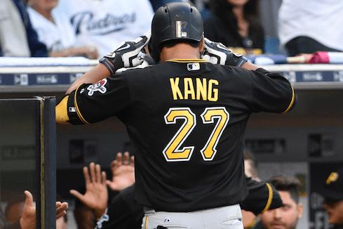 Pittsburgh Pirates Jung Ho Kang
