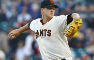 San Francisco Giants Matt Cain