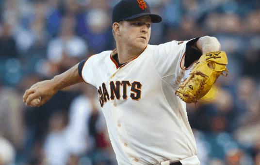 San Francisco Giants Matt Cain