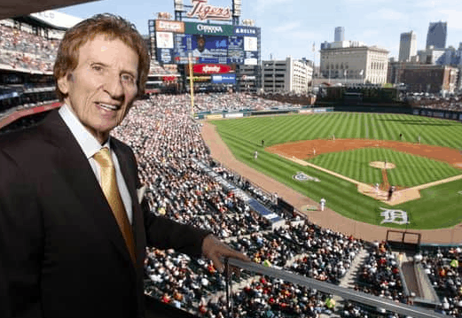 Detroit Tigers Mike Ilitch