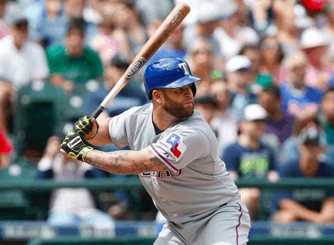 Texas Rangers Mike Napoli